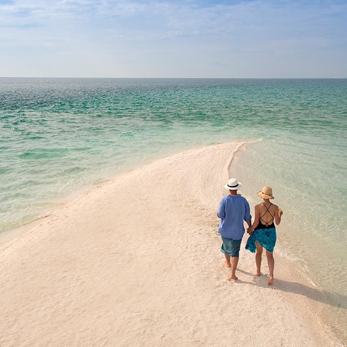 Pristine beaches of Mozambique