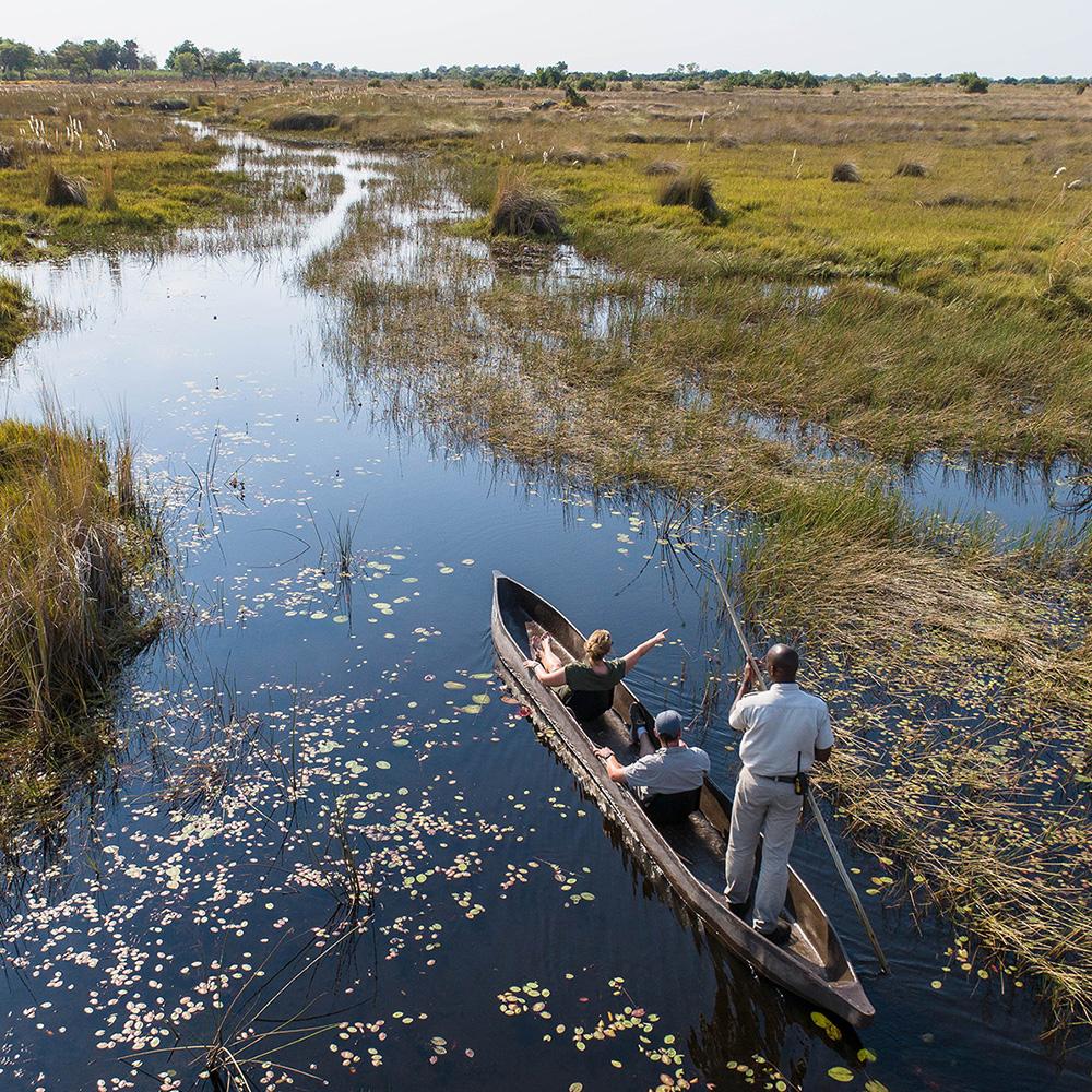 Mokoro Safari in Botswana's Okavango Delta