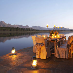 Exceptional cuisine in South Africa
