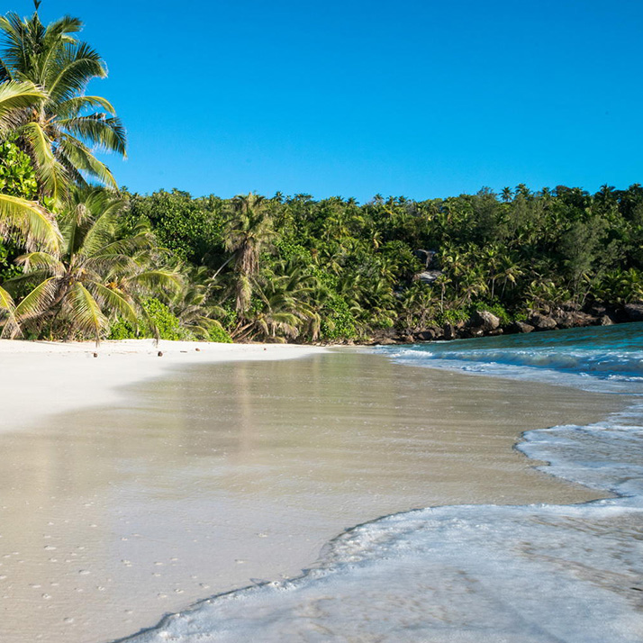 Beautiful beaches of the Indian Ocean Islands